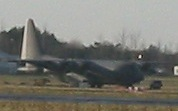US warplane Hercules MC130P at Shannon 9 Jan 2011