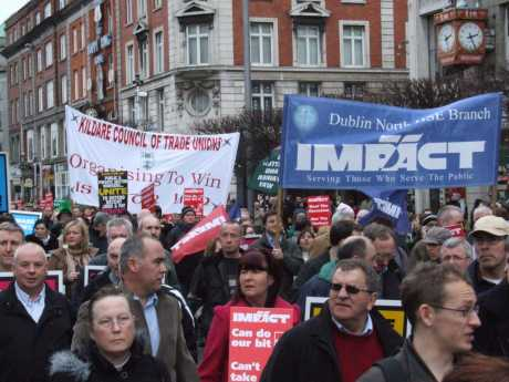 Kildare Council of Trade Unions and Dublin Branch Impact