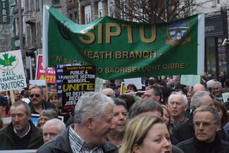 SIPTU Meath - with original and best slogan!