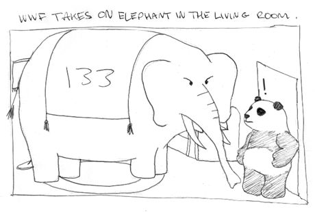 The WWF take on  the Elephant in the Living Room
