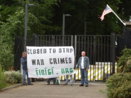 US consulate in Belfast on Thursday June 12th