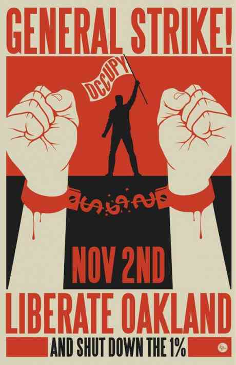 #OccupyOakland has shut down the port, first #Generalstrike since 1946 - Go Occupy Oakland