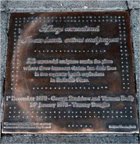 Tthe plaque as it is today in 2012, copyleft