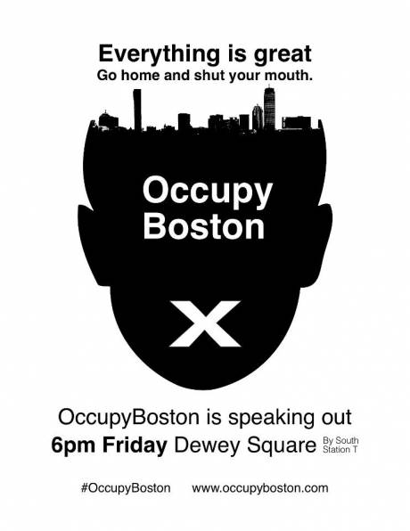 #OccupyBoston : Occupied square evicted + Cops beat veterans