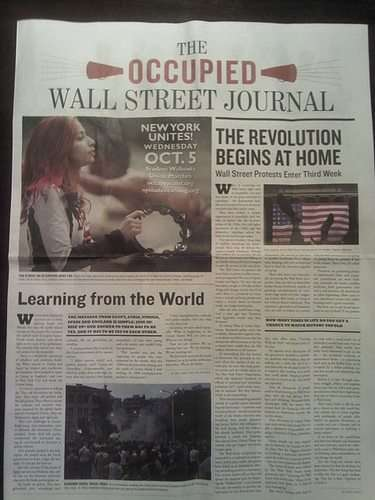 The OCCUPIED Wall Street Journal - PDF coming soon